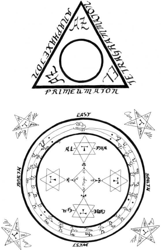 círculo goécia luciferiana