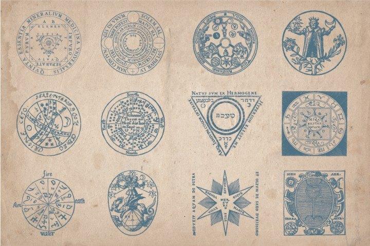 selos e círculos de magia