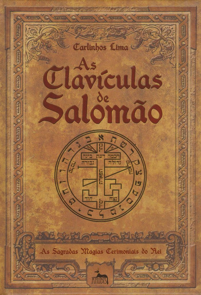 As Clavículas de Salomão - livro físico e em pdf