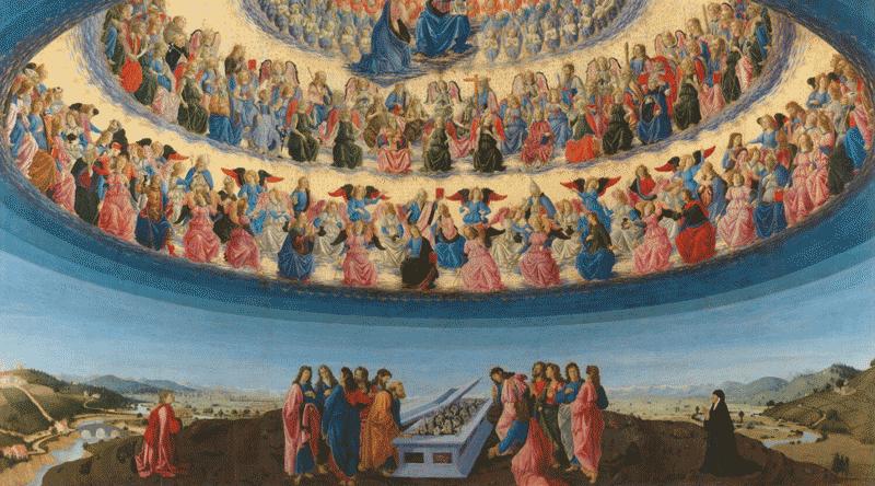 A Assunção da Virgem, Francesco Botticini, 1475