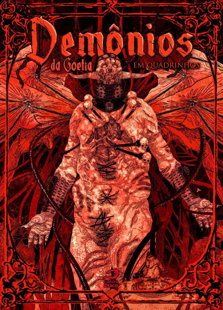 Demônios da Goetia em Quadrinhos - livro físico ou pdf