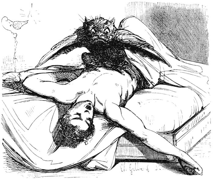 Demônio da paralisia do sono