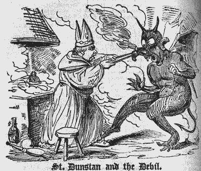 O Ferreiro e o Demônio, escrito por Wilhelm Busch em 1826