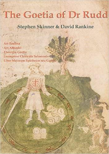 The Goetia of Dr Rudd - livro físico e em pdf