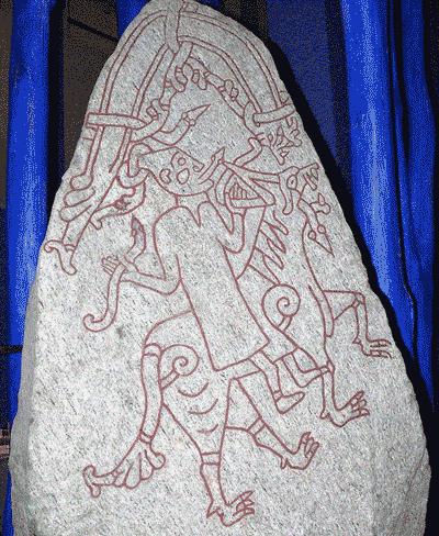 Figura do gigante de gelo Hyrokkin