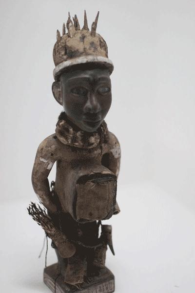 Obra hoje no Museu Etnológico de Berlim. Congo, 1901.