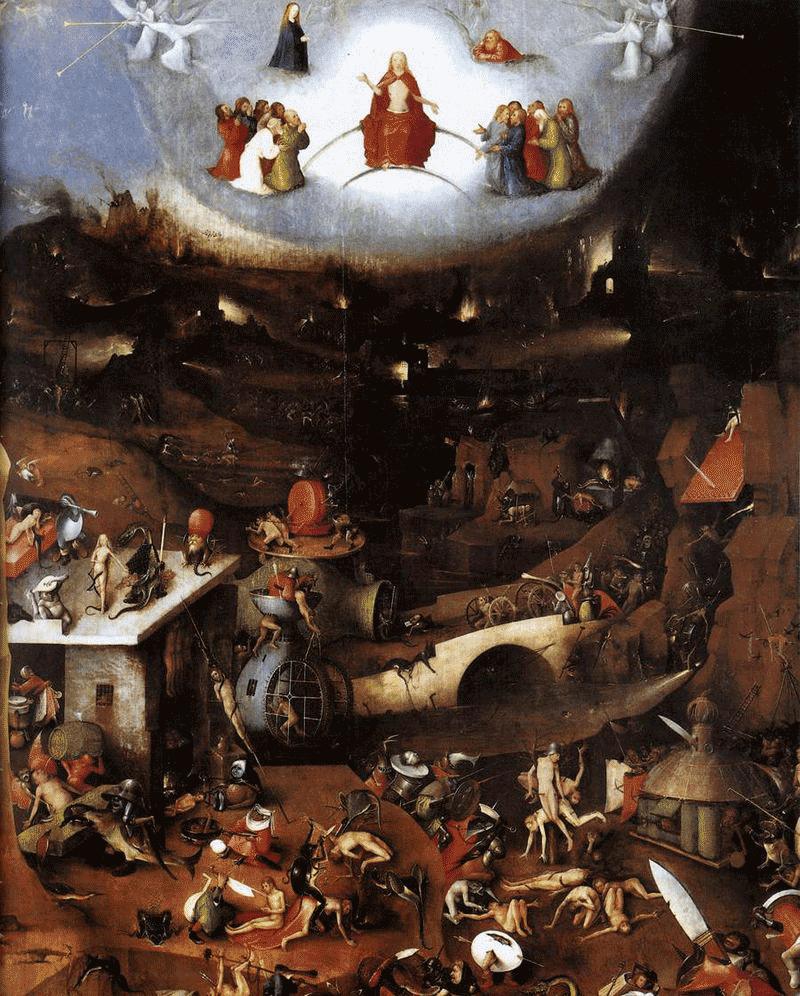 Juízo Final, Hieronymus Bosch
