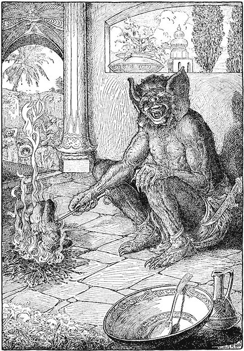 Evocação de demônios de acordo com as Clavículas de Salomão