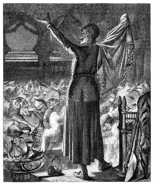 Necromante realizando ritual