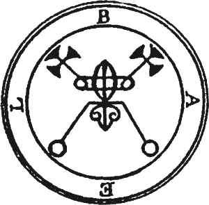 Sigilio de Baal, Belzebu, Moloch, ou Lúcifer