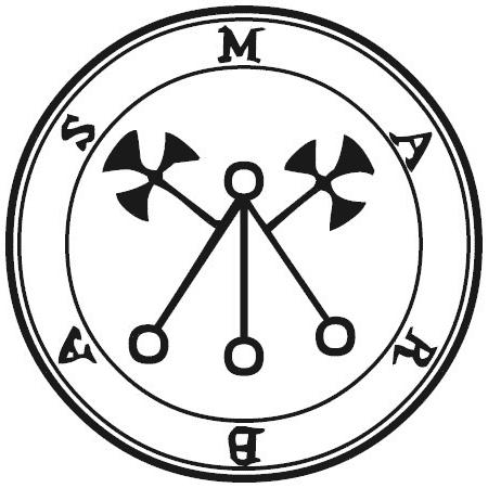 Selo do demônio Marbas