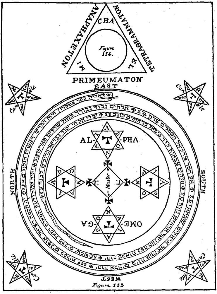 círculo de goécia salomônica
